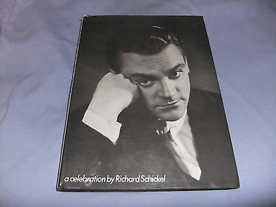 James Cagney A Celebration By Richard Schickel Large Hardcover 1985 Rare