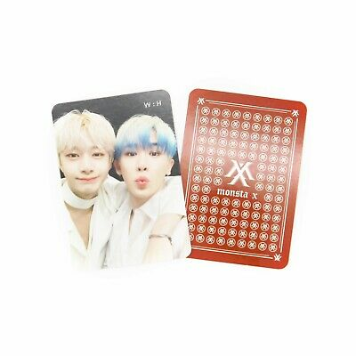 [MONSTA X]2nd Album Take.2 'WE ARE HERE' Official Unit Photocard/W:H