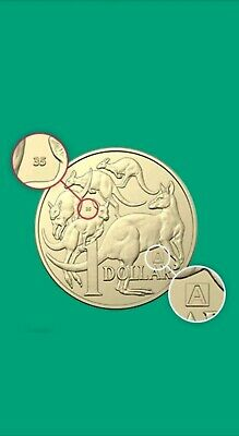 """2019 $1 Dollar Discovery """"A"""" """"U"""" & """"S""""  x 9 coins  Privy Mark UNC Cond."""