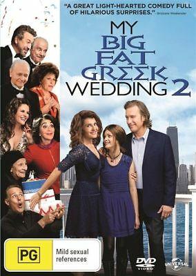 My Big Fat Greek Wedding 2 DVD 2016 Brand New Sealed