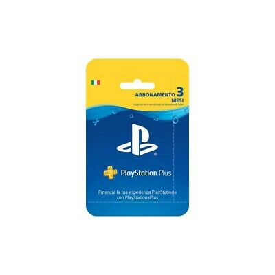 Playstation Plus Card Hang Abbonamento 90Gg