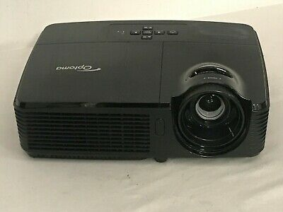 OPTOMA EX551 DLP PROJECTOR HDMI 4479h LAMP HOURS USED | REF: 1505
