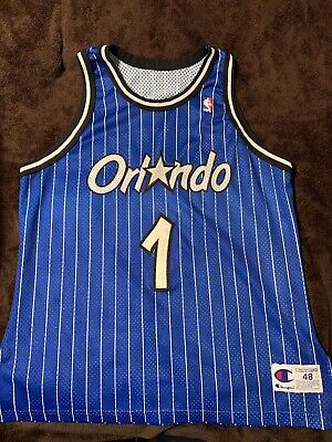 innovative design 25e19 c9ee5 NBA ANFERNEE PENNY Hardaway Champion Authentic Orlando Magic Jersey Size 48  XL
