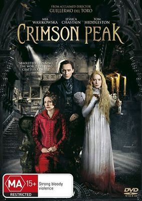 Crimson Peak (DVD, 2016) - FREE POST