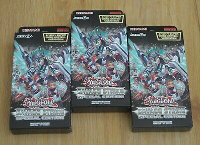 Yu-Gi-Oh! 3 x Savage Strike Special Edition Pack German New & Original Packaging