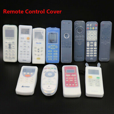 Air Condition Avoid Dust TV Remote Control Case Storage Silicone Protect Cover