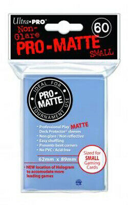 Ultra Pro Small Sleeves - Non-Glare - Clear Pro Matte (60 Sleeves)