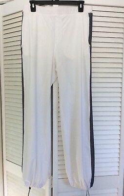 dc75025a3 Lululemon City Summer Pants White Gray Stripe SZ 10 Excellent Preowned  Condition