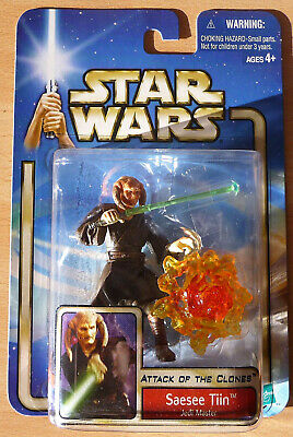 STAR WARS Attack of the Clones Saesee Tin OVP Hasbro