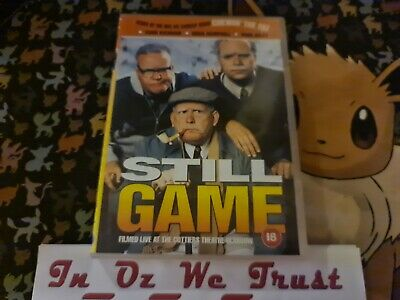 Chewin' The Fat - Still Game: Live at the Cottiers Glasgow (DVD, 2001)