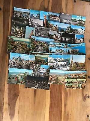 old postcards job lot approx. 400 from around the world various dates 40s onward