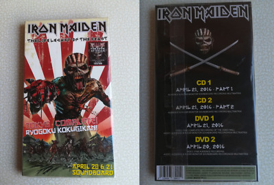 Iron Maiden – The Live Legacy Of Beast – Limited Edition 2 Cd & 2 Dvd  Editition