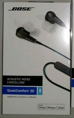c2935ccb6c7 Bose QC20 Noise Cancelling In Ear Headphones Made for Apple (Australian  'stock)