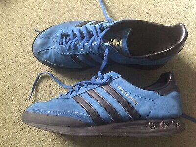 factory authentic 2d7ae a6886 Mens Adidas Kegler Super Trainers Size 10 Blue Deadstock London Dublin
