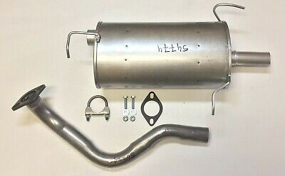 2008 nissan sentra exhaust system