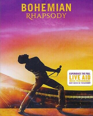 Bohemian Rhapsody 2018 PG-13 Queen rock music biography movie new DVD Rami Malek