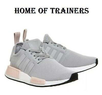 7bf72c27b9743 Adidas Nmd Runner R1 Gris / Rose Pâle FEMMES Baskets Toutes les Tailles  By3058