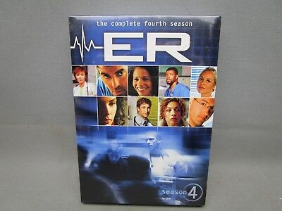 ER - The Complete Fourth Season (DVD, 2011, 6-Disc Set) New Sealed Free Shipping