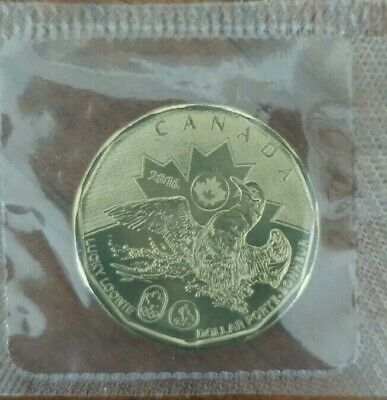 CANADA 2016 $1.00 Coin Sealed in Philofilm Lucky Loonie 1 dollar UNC from RCM
