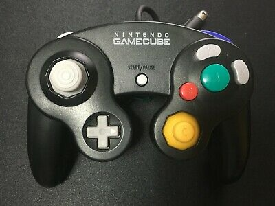 Used Nintendo GameCube Controller Black GC Japan