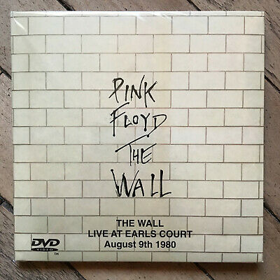 Pink Floyd - The Wall Live At Earls Court August 9th 1980 2 CD + DVD Papersleeve