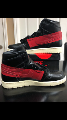 74ab30a2f9fe2d NEW Nike Air Jordan 1 Couture Defiant Black Red SZ 10 In Hand FAST FREE SHIP