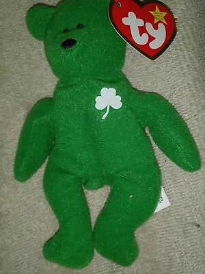 9de461e08b0 MCDONALD S TY TEENIE Beanie Babies Happy Meal Toy  10 BLIZZ THE ...
