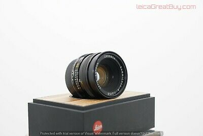 "Leica Summicron-R 50mm f/2 MF ""R Only"" cam #2909614 ""Pristine Optics"""