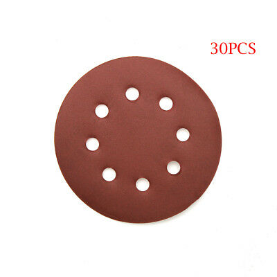 100x 2 Inch Sandpaper Sanding Disc Hook Loop Backed Pad Polishing P80-3000