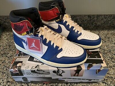 aa74944b9852 Union x Air Jordan 1 Retro NRG Storm Blue Size 10.5 Brand New In Box BV1300