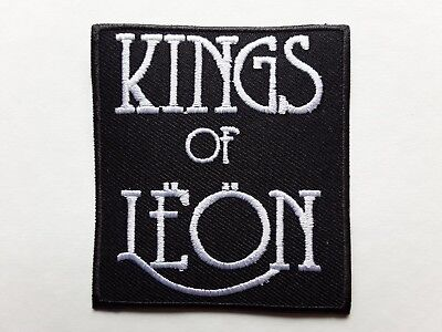 Kings Of Leon Embroidered Patch Heavy American Rock Music Band Uk Seller