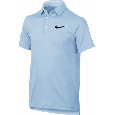 Nike Boys Dry polo - boys M (age 10-12) in hydrogen blue