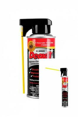 5oz Deoxit Fast Acting Cleaner Spray For Electronic Electrical Contact Connector