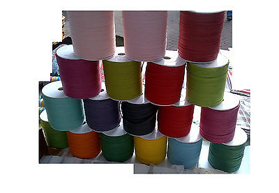 10 Reels x 100yd - 1000yds total Paper Raffia Mixed Colours 6mm Wide, Now £12.99