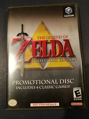 The Legend of Zelda Collector's Edition Promotional Disc Nintendo GameCube game