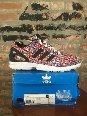 028c2be49 Adidas ZX Flux Multi-color Prism Size 10 nmd ultra boost yeezy