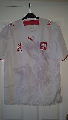 MENS FOOTBALL SHIRT - Poland - National Team - Home 2006-2007 - Puma ... d26d63563