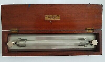 Vintage Rolling Parallel Ruler Precision Instrument Sydney Boxed