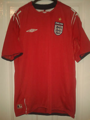 06af9b5c0f MENS FOOTBALL SHIRT - England - Away 2004-2006 - Umbro - Size L ...