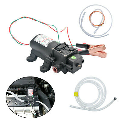 12V 60W Auto Car Electric Oil Fluid Liquid Extractor Scavenge Transfer Pump Kit