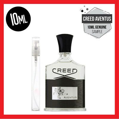 Creed Aventus 10ml Spray Bottle - 100% Authentic Eau De Parfum Latest Batch