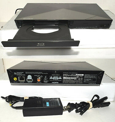 SONY BDP-S5200 Blu-ray DVD & CD Player Wi-Fi 3D Wireless Media Streamer, $0 S&H