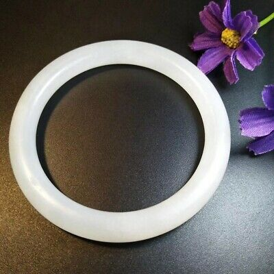 Fine Chinese Nephrite White Jade Bracelet Top Quality Good Condition