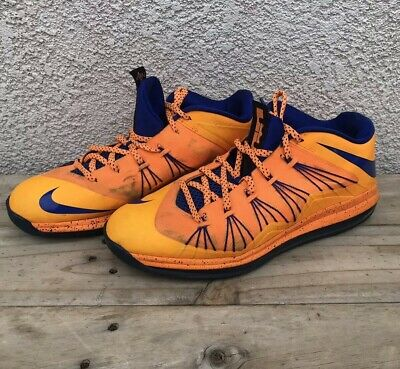the latest 3be8e c75fb Nike Air Max Lebron X 10 Low Bright Citrus Basketball Shoes 579765-800 Size  13
