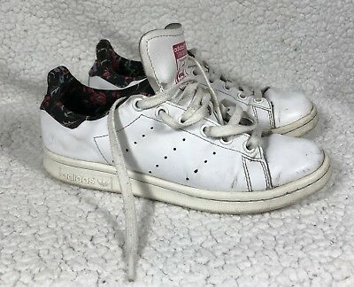 free shipping b63da 910c2 WOMEN'S ADIDAS STAN Smith The FARM sz 6 Athletic Shoes Leather Floral Backs