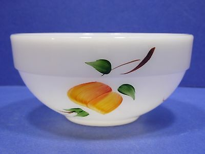 Fire-King Colonial Mixing Bowl Gay Fad Fruit 6 Inch Oven Ware USA Vintage