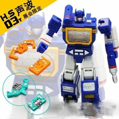 Hot Soldiers HS03T Robot Soundwave With Laserbeak Ratbat Set New