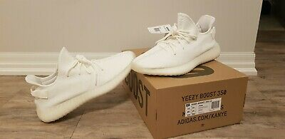 detailed look 172cd c57b5 YEEZY BOOST 350 v2 Cream CP9366 Size 14 Kanye West Shoes