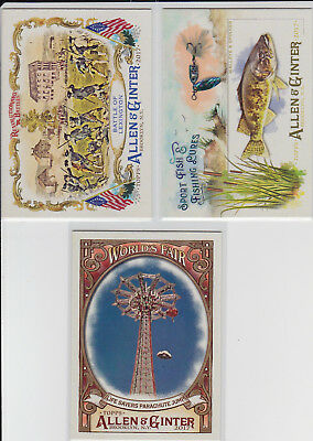 2017 Topps Allen Ginter Full-Size Insert Lot You Pick 6 Cards Complete Your Set