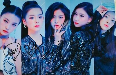 Signed Photo ITZY Yuna Ryujin Chaeryeong Lia Yeji ALL5 Autograph 0227